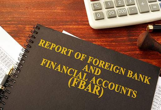Foreign Bank Account Reporting (FBAR)