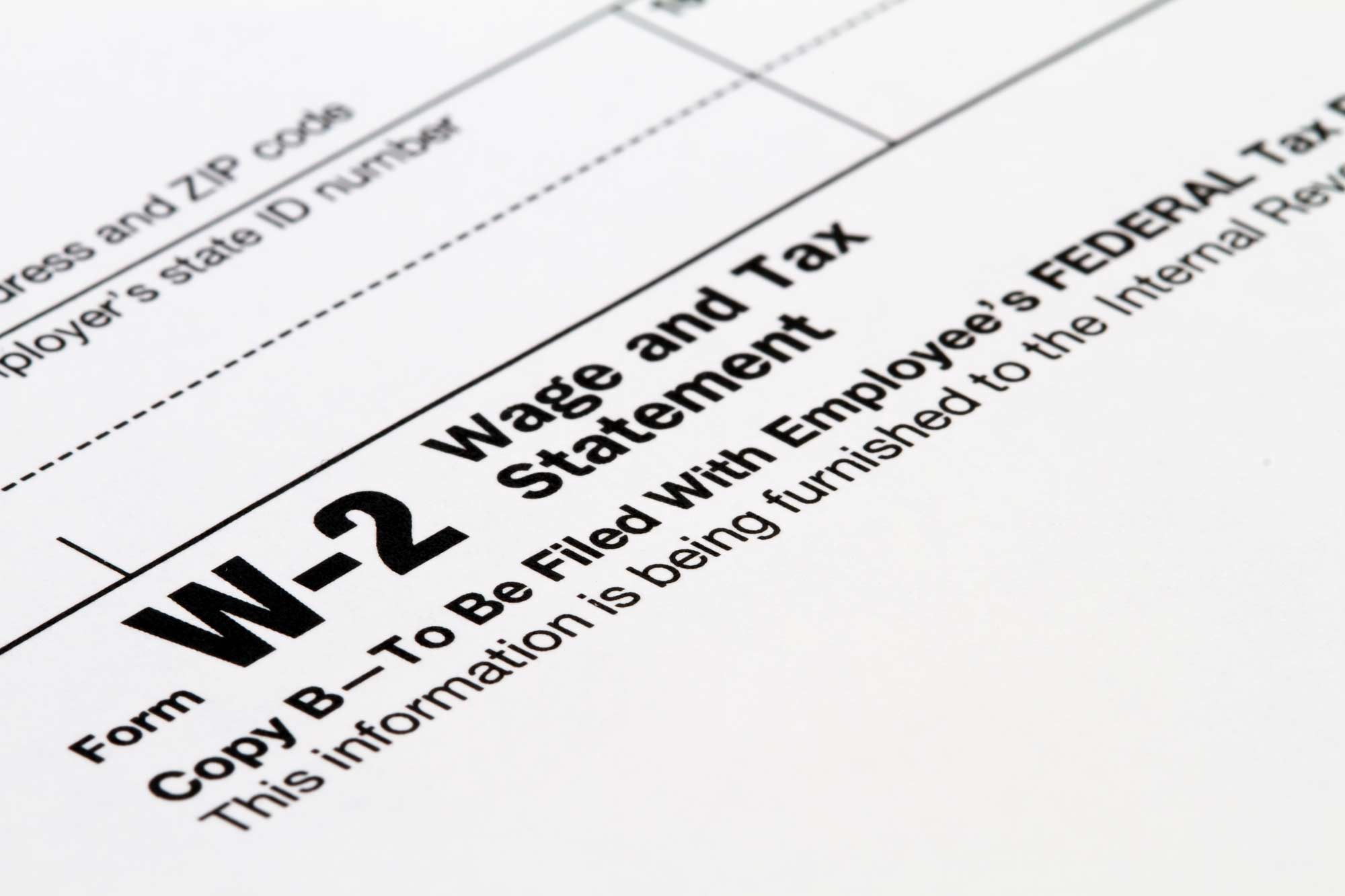 IRS Warns Employers and Taxpayers of Form W-2 Scam