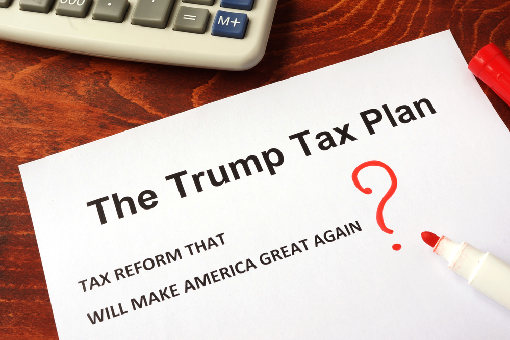How Will Trump's Tax Reform Plan Affect You In The New Year?